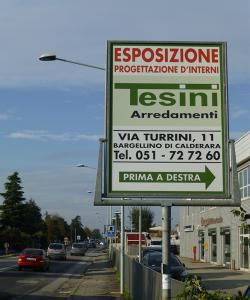cartello strada
